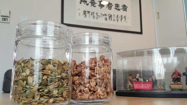 吃果仁+薯片可以幫助消化?Nuts+Chips=Digestion promotion?